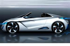 Future Honda Electric Vehicles Honda S Electric Sports Car Concept Pictures Evo