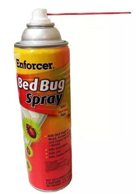enforcer  oz bedbug tick flea lice cockroach dust mites