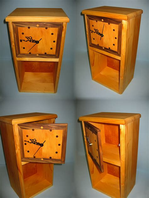 huon pine clock bookshelf by jammyjamjam7 on deviantart