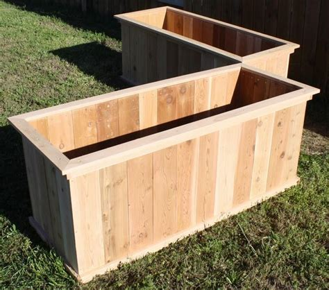 Large Cedar Planter Box by 2 New Large Cedar Wood Open Planter Boxes 2 Ft X 5 Ft X 2