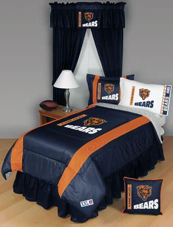 Chicago Bears Bed Set Nfl Chicago Bears Sidelines Bedding Set