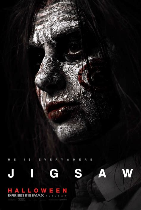 jigsaw film saw jigsaw movie character posters teaser trailer