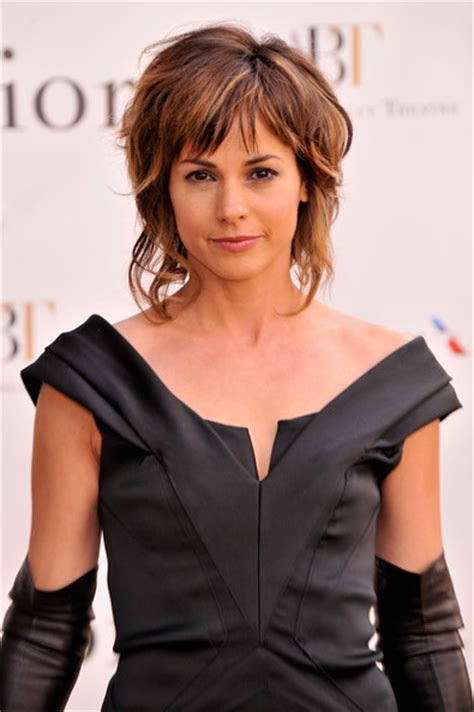 hairstlye of actress stephanie szostak stephanie szostak in celebs at the american ballet spring