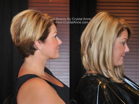 hair extensions for bob haircut long angled bob with hair extensions houston hair