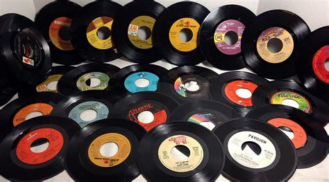 Records Us 25 Craft Grade 7 Inch 45 Rpm Vintage Vinyl Records Craft