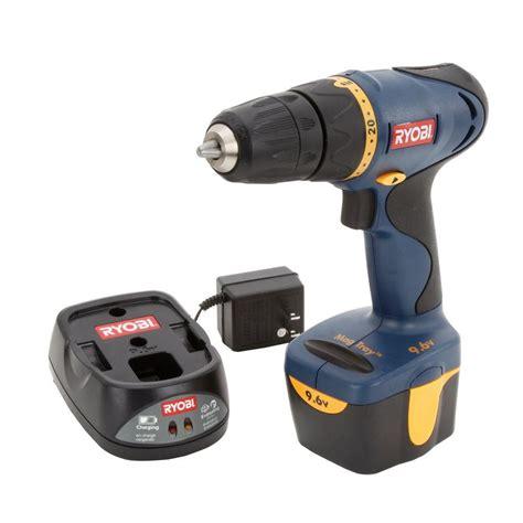 ryobi 9 6 volt ni cad 3 8 in cordless drill hp696 the