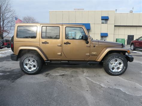 copper jeep 2015 jeep wrangler unlimited in copper brown jeep