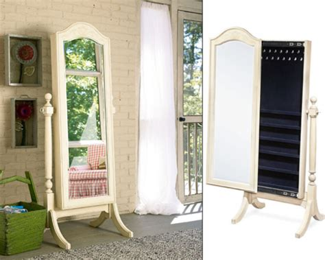 Jewelry Armoire Cheval Standing Mirror by Cheval Mirror Jewelry Armoire Standing Jewelry Armoire