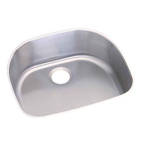 Revere Kitchen Sinks Revere Elkay Undermount Stainless Steel 24 In 0 Single Bowl Kitchen Sink Ncfu2118 The