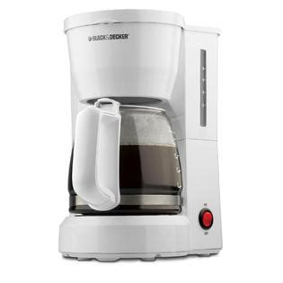 Coffee Maker Black Decker Penyeduh Kopi 1 Cup 330 Watt Dcm25 B1 black decker dcm600w white 5 cup coffee maker