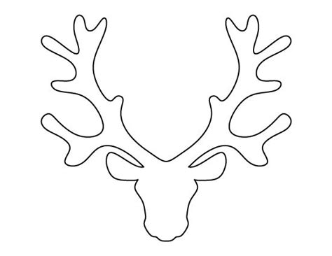 Small Printable Reindeer | best 25 reindeer head ideas on pinterest reindeer
