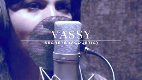 secret acoustic lyrics vassy secrets acoustic cover of ti 235 sto kshmr ft vassy