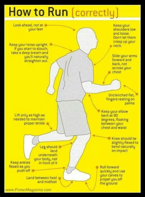 how to properly a how to run properly workout inspiration