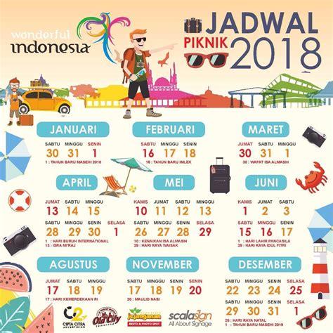 Kalender 2018 Tiket Kalender Liburan 2018 Asambackpacker01 S