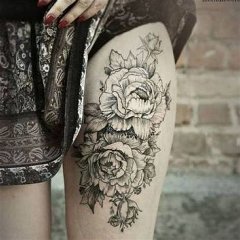 japanese peony tattoo black and grey 37 black and grey peony tattoos