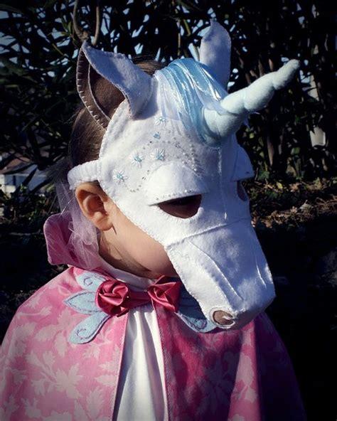 unicorn mask pattern unicorn mask pdf pattern masks unicorns and etsy