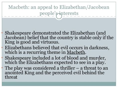 good and evil themes in macbeth renaissance macbeth