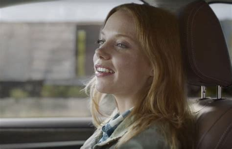 megan easton red hair actress megan easton in subaru outback commercial