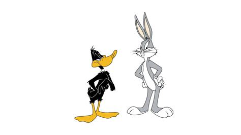 bunny and bugs bunny and daffy duck wallpaper 19579