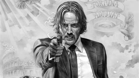 john wick tattoo wallpaper john wick chapter 2 full hd wallpaper and background