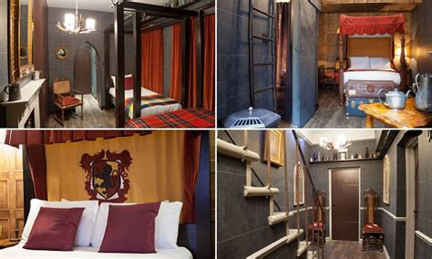 Hotel in london unveils harry potter themed room daily mail online