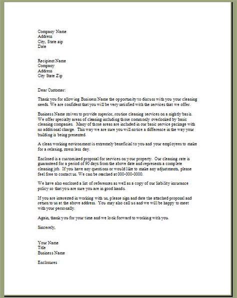 bid proposal cover letter