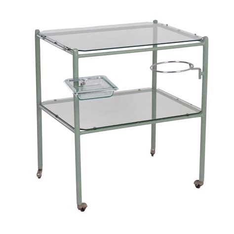Doctor Table vintage industrial trolley from the 1930s ztijl