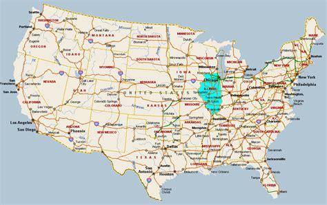 maps usa illinois image gallery illinois america