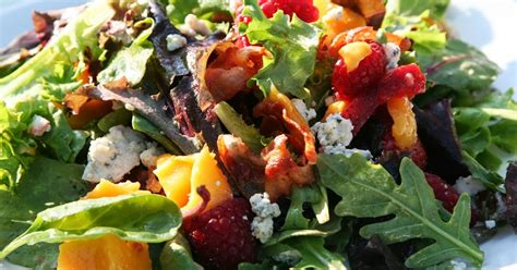 Chic And Food At Sundance by Sundance Salad With Candied Pecans And Vinaigrette