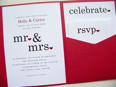 25 Best Wedding Invitations Cards Designs ? WeNeedFun