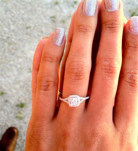 best 25 square wedding rings ideas on square