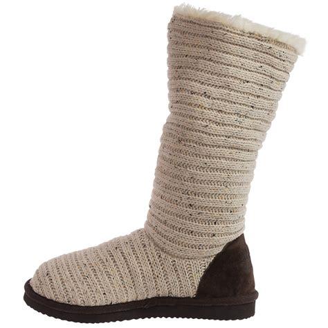muk luks knit boots muk luks melana knit boots for save 64