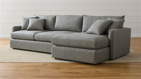 Crate And Barrel Lounge by Lounge Ii 2 Sectional Sofa Taft Steel Crate And