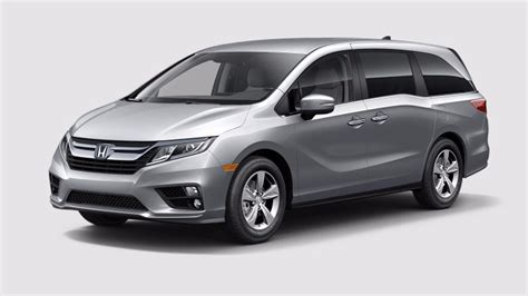Honda Odyssey Colors by View The 2018 Honda Odyssey Exterior Color Options