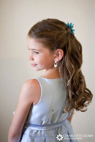 bridal hairstyles for children little girls stylish hairstyles ideas for wedding function