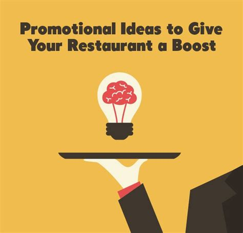 promotion ideas promotional ideas to give your restaurant a boost things