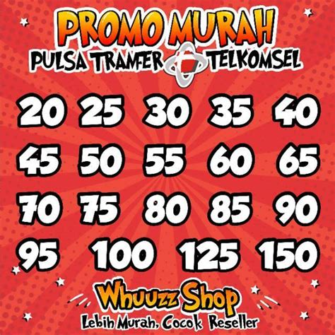 Telkomsel Pulsa 20 Rb promo harga turun terus pulsa transfer telkomsel simpati