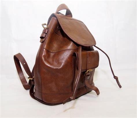 Tas Ransel Backpack Vintage Kulit Sapi Asli 100 Pull Up Tas Kulit Ransel Vintage 2 Model Ransel Slempang