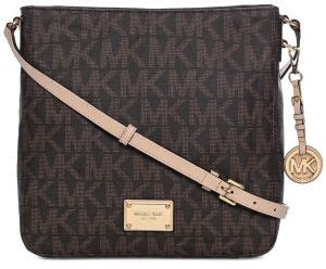 Sling Bag Handbag Mk 8994 L 1 michael kors 30t2gtvm3b 200 jet set travel large monogram logo messenger bag for brown