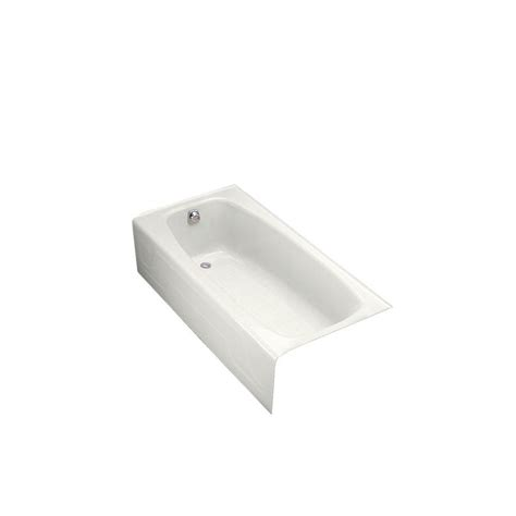 kohler dynametric bathtub kohler dynametric 5 5 ft left hand drain cast iron