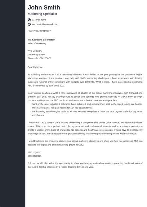 cover letter builder cover letter