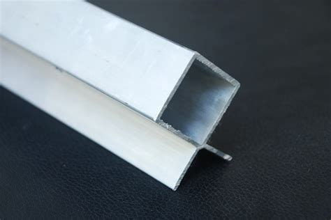 aluminium profile sections aluminium square corner profile section 30x25mm sms3025