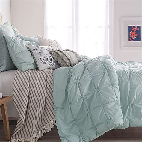 smocked comforter peri home check smocked comforter set bed bath beyond