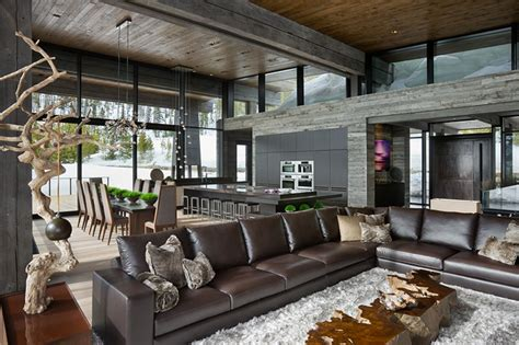 Mountain Home Interiors by World Of Architecture Luxury And Mountain Home By