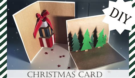 diy christmas cards kartki świąteczne youtube