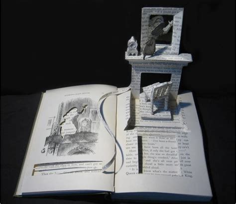 Cool Artist Su Blackwell by Su Blackwell S Book Cut Sculptures Word And Image