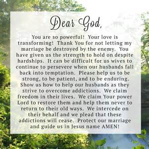 prayer for husband to come back home prayer of the day helping your husband overcome addiction