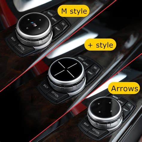 Bmw X1 Sticker by Idrive Car Multimedia Buttons Cover Stickers For Bmw X1 X3
