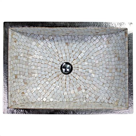 mosaic bathroom sink linkasink undermount mosaic bathroom sinks