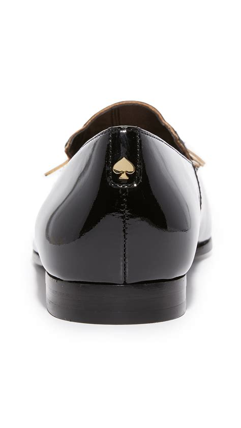 kate spade cat slippers kate spade new york cecilia cat loafers in black lyst